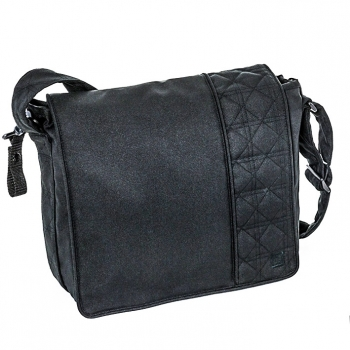Сумка для коляски Messenger Bag, Black Melange (980)