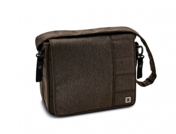 Сумка для коляски Messenger Bag Brown Fishbone (878) 2018