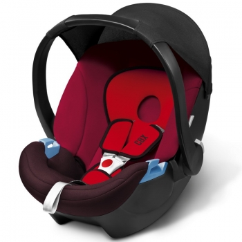 Автокресло Cybex Aton Basic, Rumba Red
