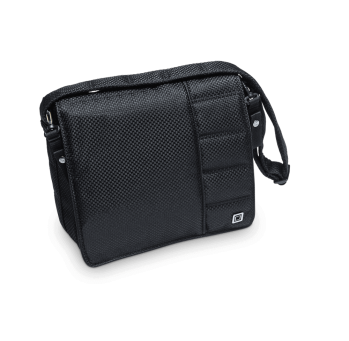 Сумка для коляски Messenger Bag Black Panama (802) 2019